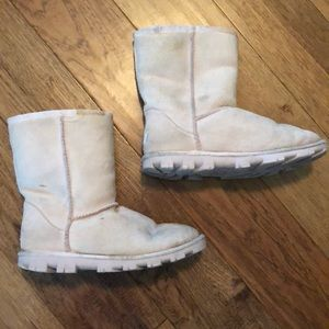 Low Cut Ugg Boots. Size 7